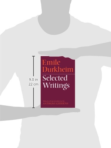 selected writings by emile durkheim