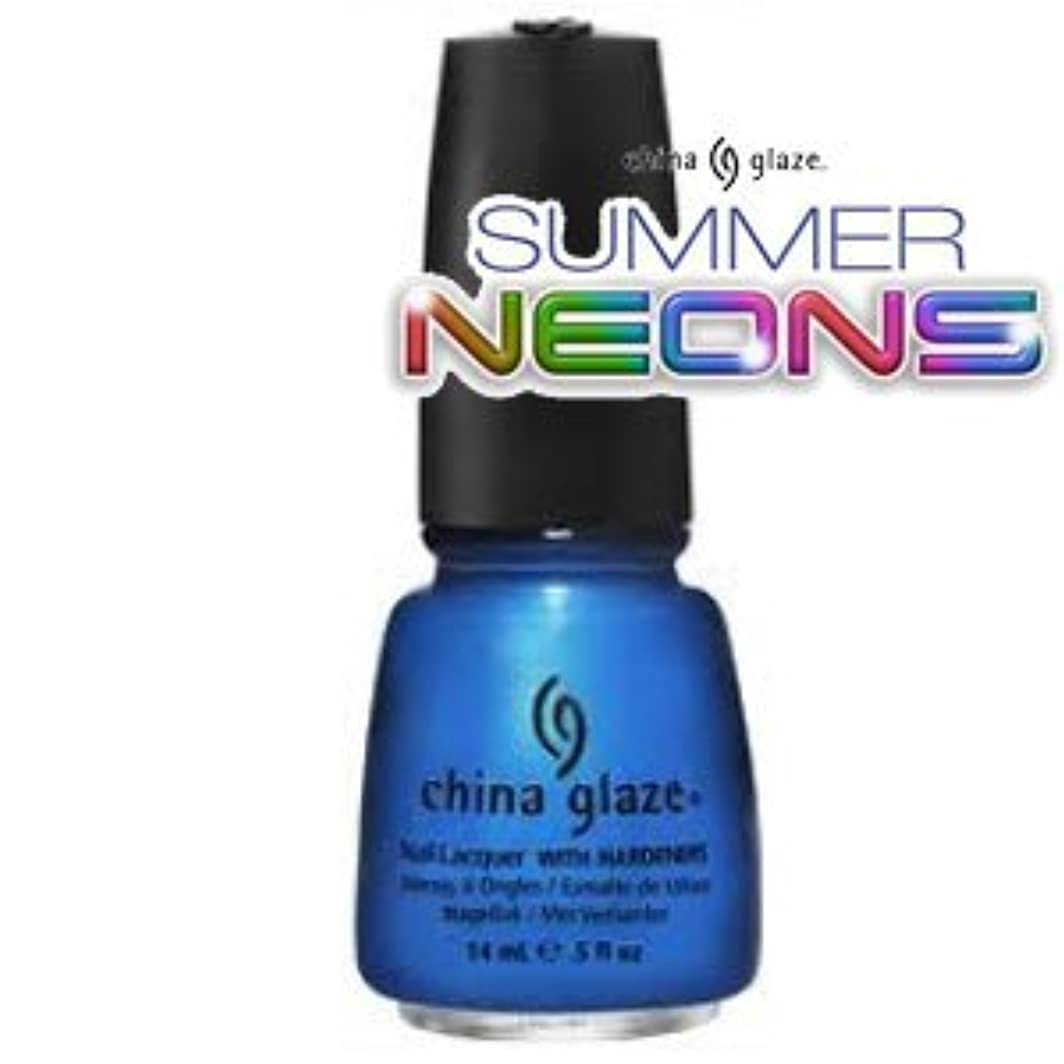 櫛適応する極めて重要な(チャイナグレイズ)China Glaze Splish Splashーサマーネオン コレクション [海外直送品][並行輸入品]