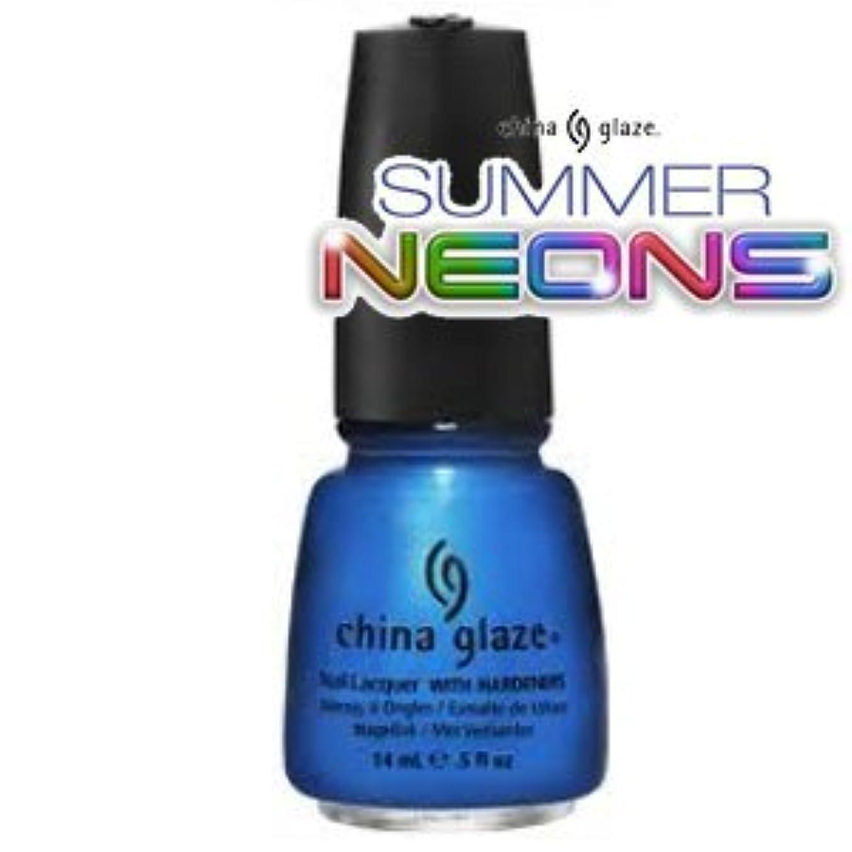 ルーチン効果的ダム(チャイナグレイズ)China Glaze Splish Splashーサマーネオン コレクション [海外直送品][並行輸入品]