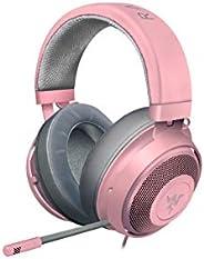 Razer RZ04-02830300-R3M1 Kraken Multi-Platform Wired Gaming Headset, Quartz Pink