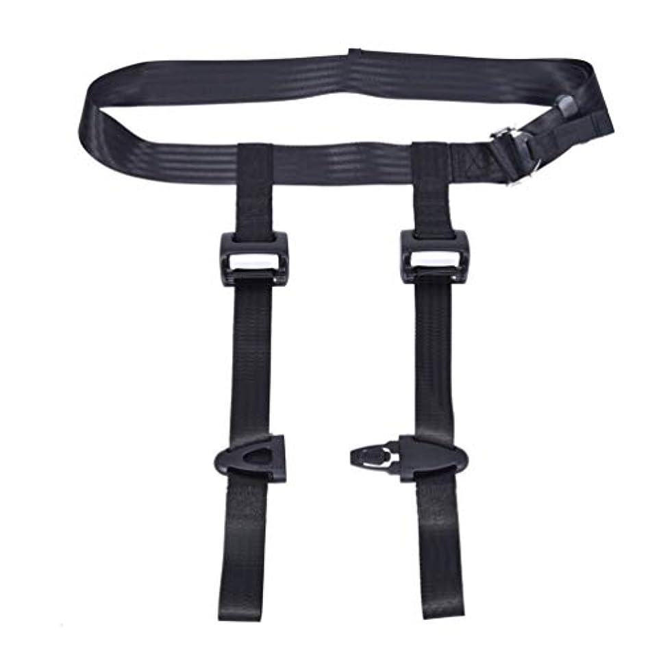 現代のテロリストお手入れHealifty ベビーハーネスベルト 飛行機安全ベルト トラベルハーネス 安全ベルト 幼児用シートベルト