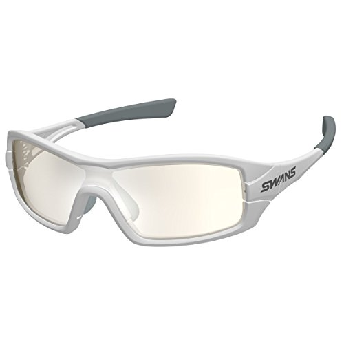 SWANS(スワンズ) サングラス ストリックスアイ ミラーレンズモデル STRIX I-0712 W ホワイト×ホワイト×グレー