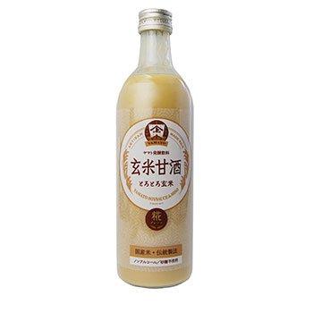 ヤマト醤油味噌 玄米甘酒(げんまいあまざけ 490ml)...