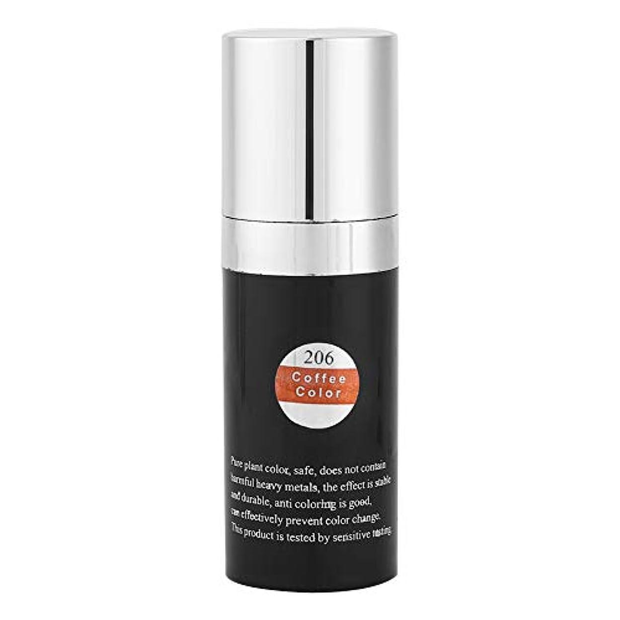 アジア人頼むプラスチック6色顔料の入れ墨、有機性植物の顔料インク眉毛の唇の目ライン永久的な色の構造の入れ墨の化粧品インク(コーヒー)