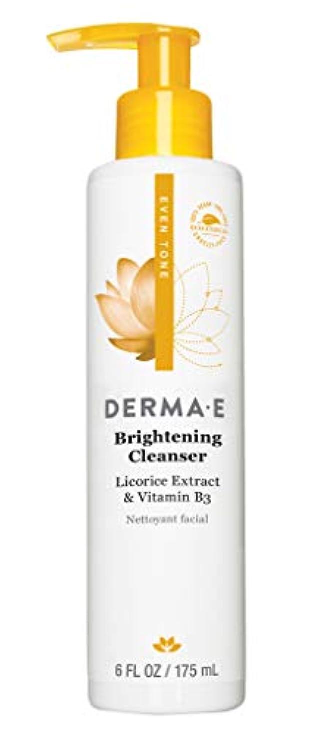 事業内容味面積Derma E Even Tone Brightening Cleanser 175ml/6oz並行輸入品
