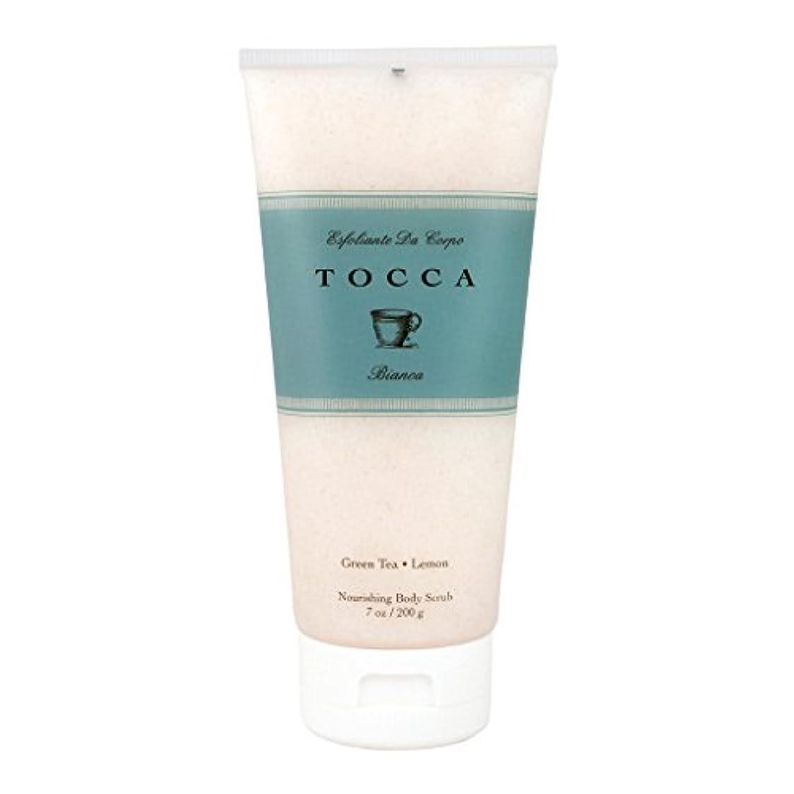 落ち着いた背が高い人事トッカ(TOCCA) ボディーケアスクラブ  ビアンカの香り 200ml(全身?ボディー用マッサージ料 シトラスとグリーンティー、ローズが絶妙に溶け合ったほのかに甘さ漂うフレッシュな香り)