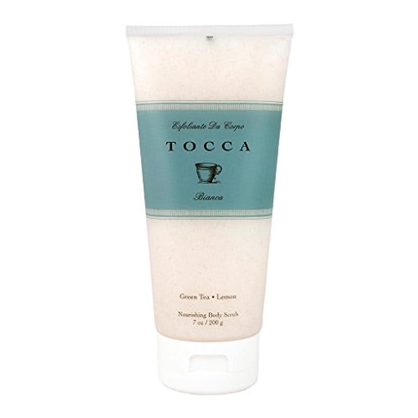 インターネット合理化変位トッカ(TOCCA) ボディーケアスクラブ  ビアンカの香り 200ml(全身?ボディー用マッサージ料 シトラスとグリーンティー、ローズが絶妙に溶け合ったほのかに甘さ漂うフレッシュな香り)