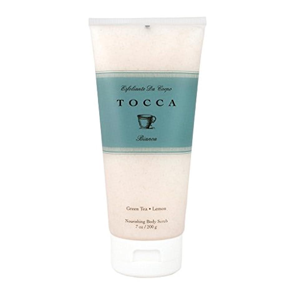 考え想像力豊かな願望トッカ(TOCCA) ボディーケアスクラブ  ビアンカの香り 200ml(全身?ボディー用マッサージ料 シトラスとグリーンティー、ローズが絶妙に溶け合ったほのかに甘さ漂うフレッシュな香り)