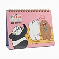 We Bare Bears(ぼくらベアベアーズ) 2019 卓上用 カレンダー ★★Kstargate限定★★