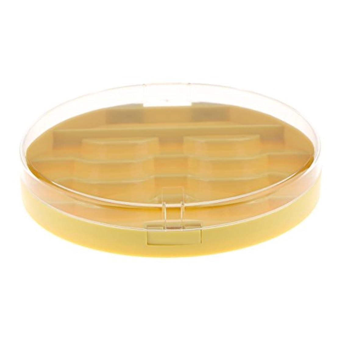 住む側痴漢Baosity 付けまつげ収納ケース 付けまつげ ラッシュ まつげ メイクアップ 2色選択 - 黄