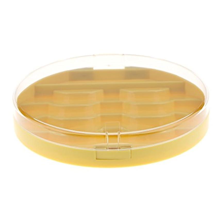 サミュエル蜂抽象化Baosity 付けまつげ収納ケース 付けまつげ ラッシュ まつげ メイクアップ 2色選択 - 黄