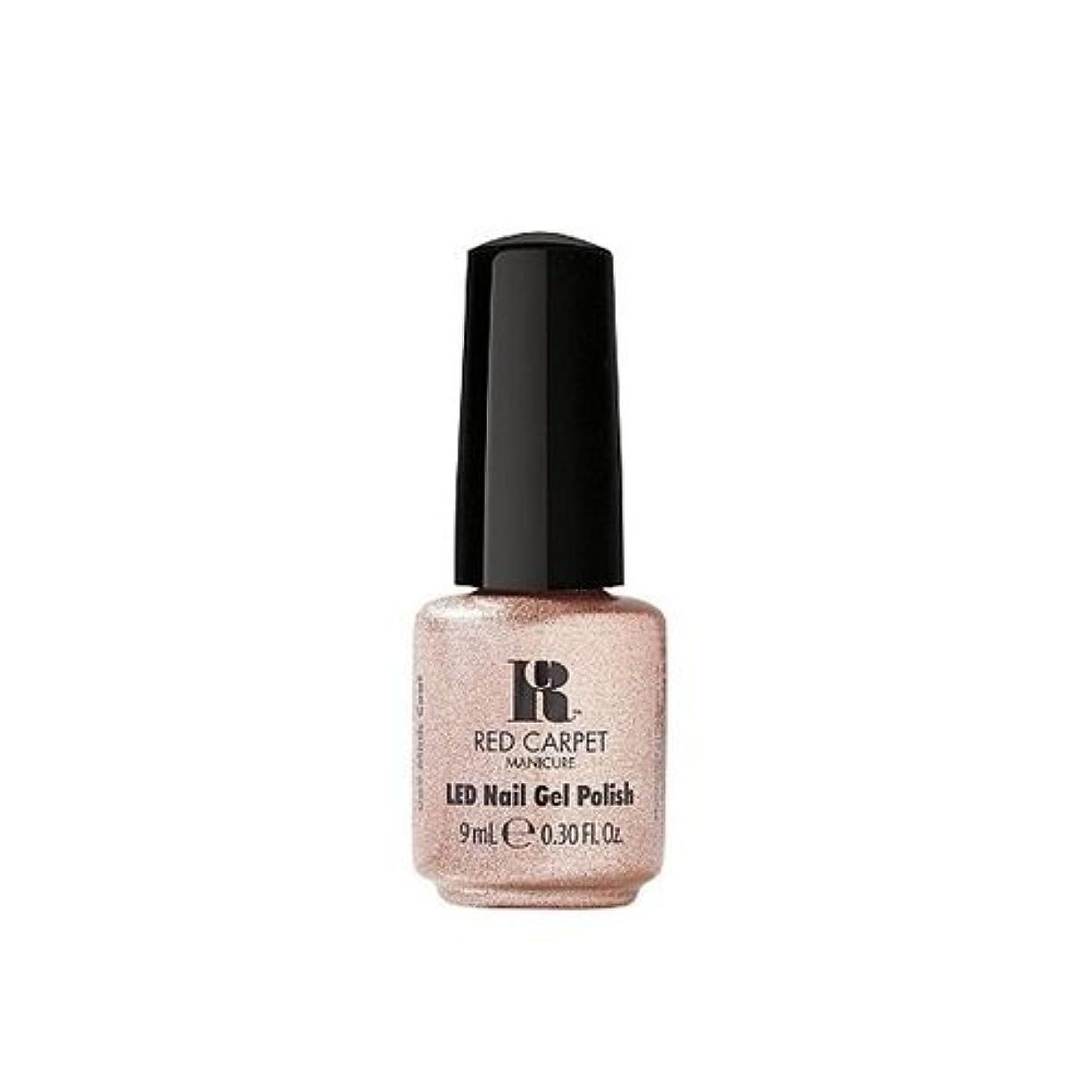 誤解期間開業医Red Carpet Manicure - LED Nail Gel Polish - Mink Coat - 0.3oz / 9ml