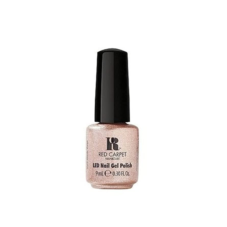 句スクリーチ反響するRed Carpet Manicure - LED Nail Gel Polish - Mink Coat - 0.3oz / 9ml