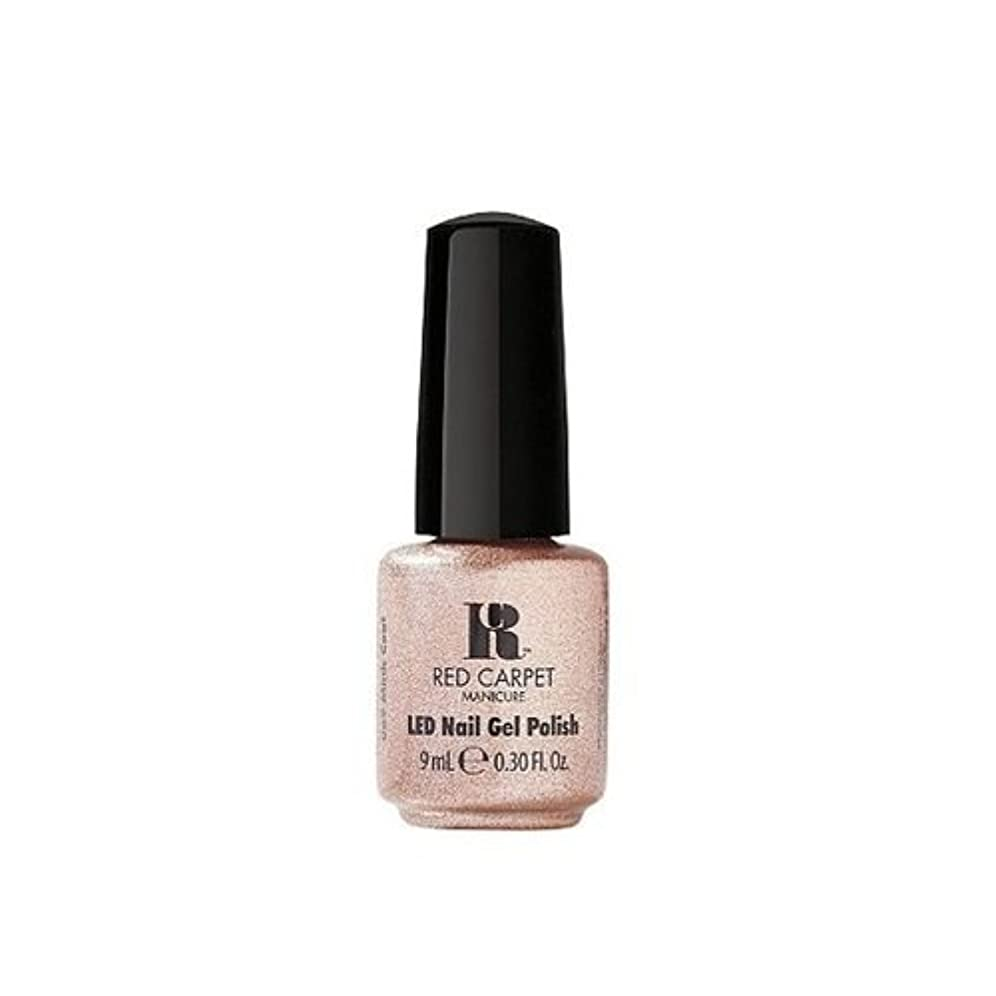 きらめきダンプ予測するRed Carpet Manicure - LED Nail Gel Polish - Mink Coat - 0.3oz / 9ml