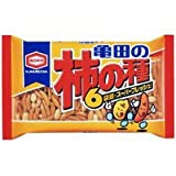 亀田製菓フレッシュパック 柿の種 6P 230G 1袋