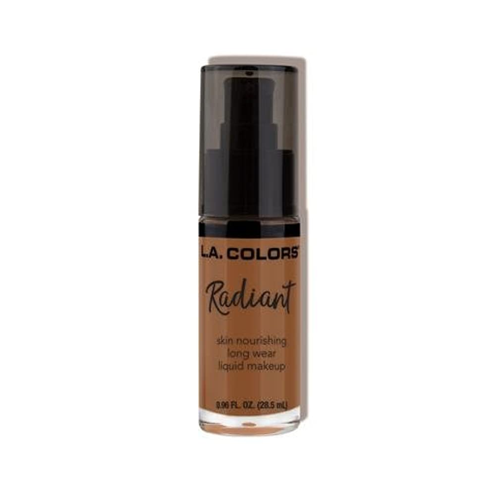放棄負心配する(3 Pack) L.A. COLORS Radiant Liquid Makeup - Ginger (並行輸入品)