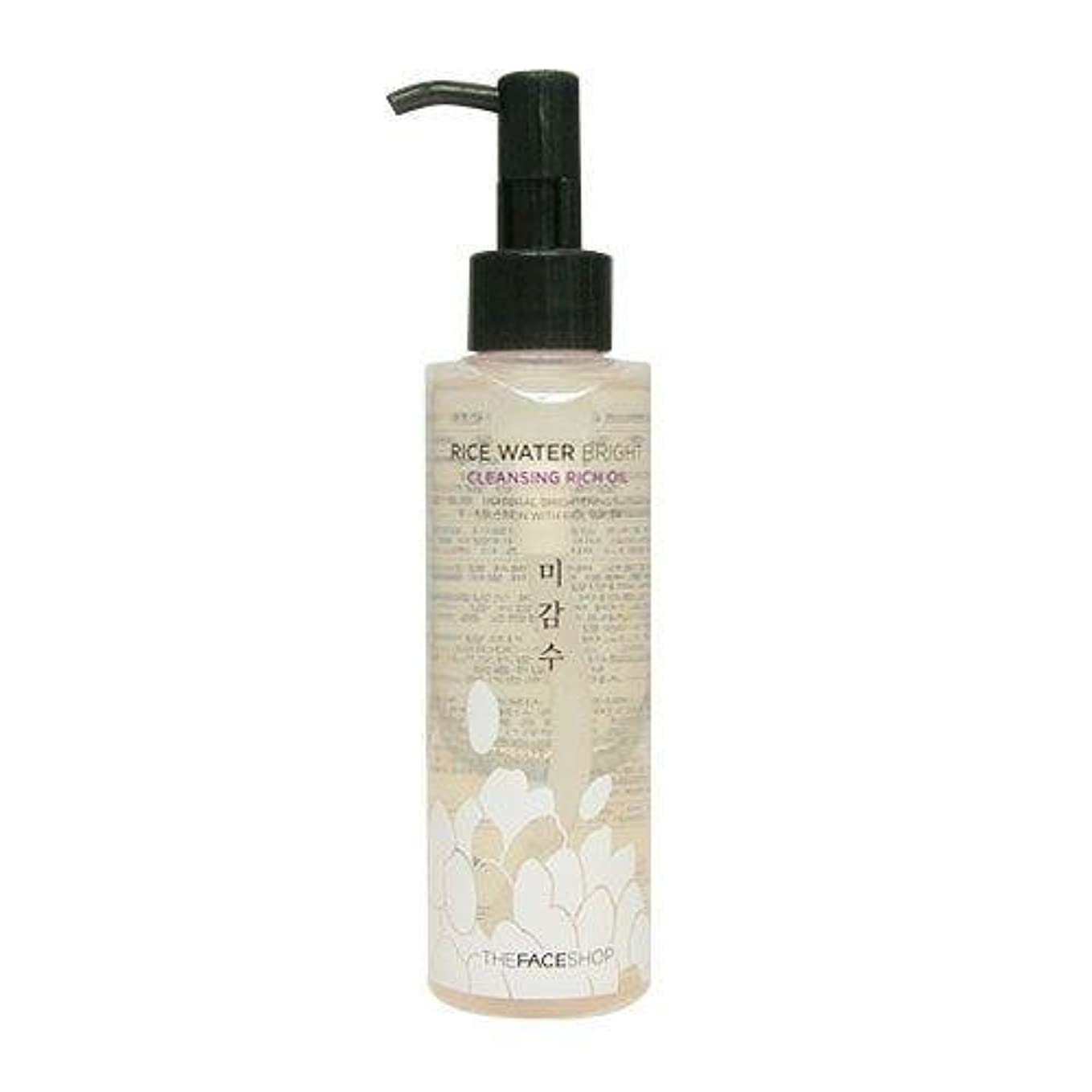 食品包囲太字The Face Shop Rice Water Bright Cleansing Rich Oil (Dry Skin) (Korean original)