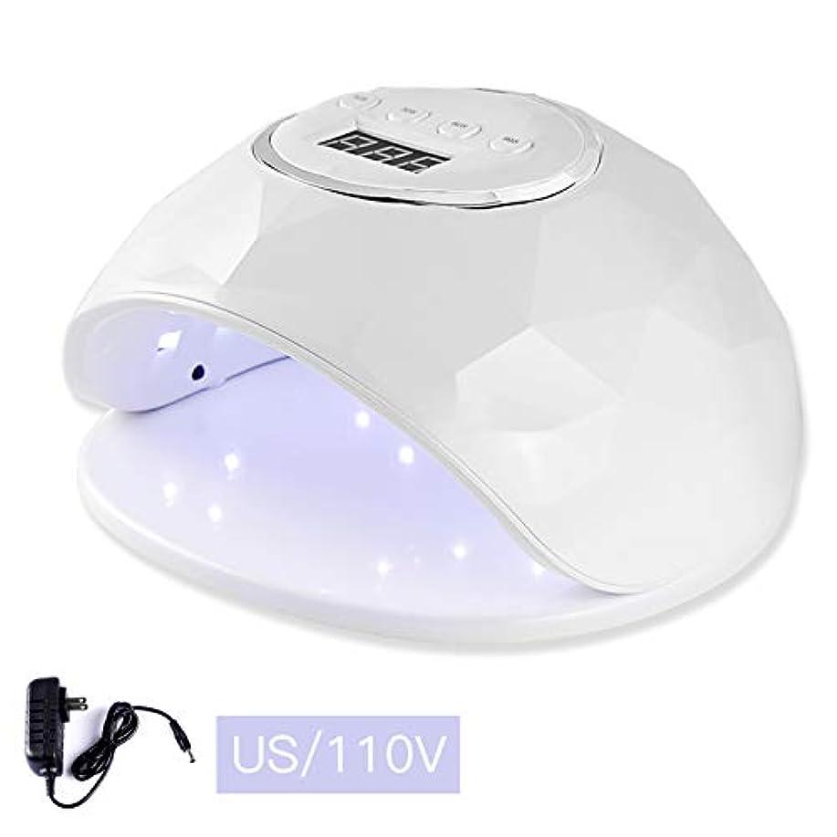 好み帽子アプトみかMIKA ネイルドライヤー 硬化用UVライト LEDダブルライト 4種類時間設定 2光源技術 携帯型 高速硬化ジェルネイルライト 2色
