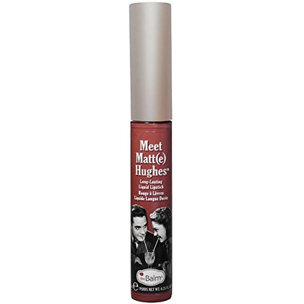伝染性の累積忘れるtheBalm - Meet Matt(e) Hughes Long-Lasting Liquid Lipstick Trustworthy [並行輸入品]