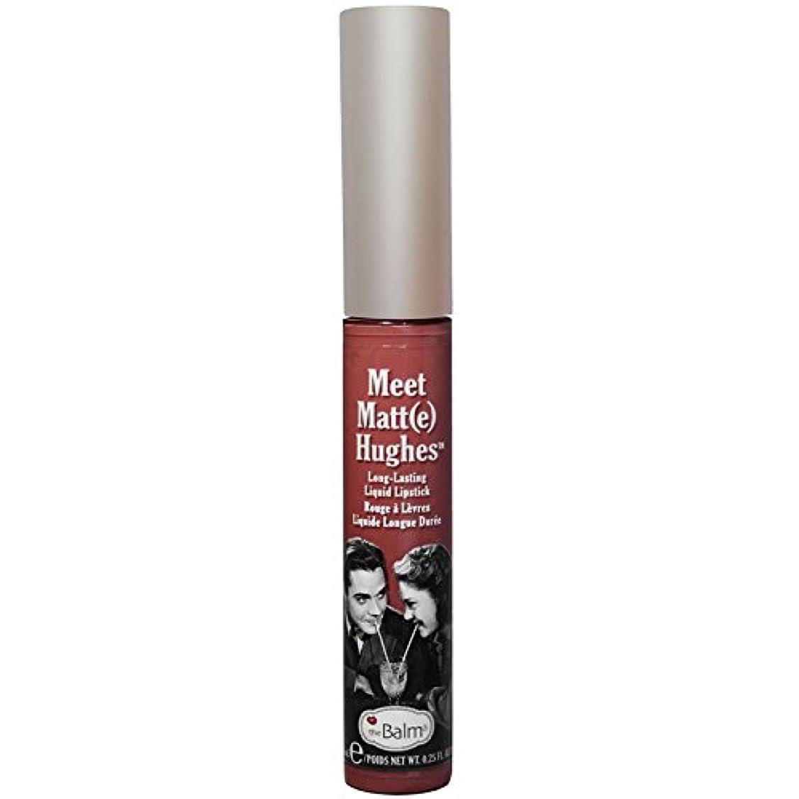 エラー心理的にタイムリーなtheBalm - Meet Matt(e) Hughes Long-Lasting Liquid Lipstick Trustworthy [並行輸入品]