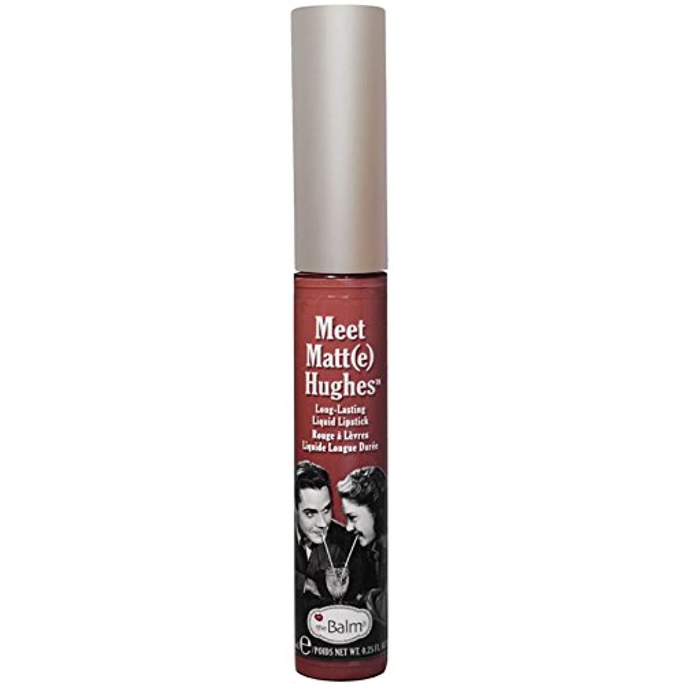 セーター不潔かわいらしいtheBalm - Meet Matt(e) Hughes Long-Lasting Liquid Lipstick Trustworthy [並行輸入品]