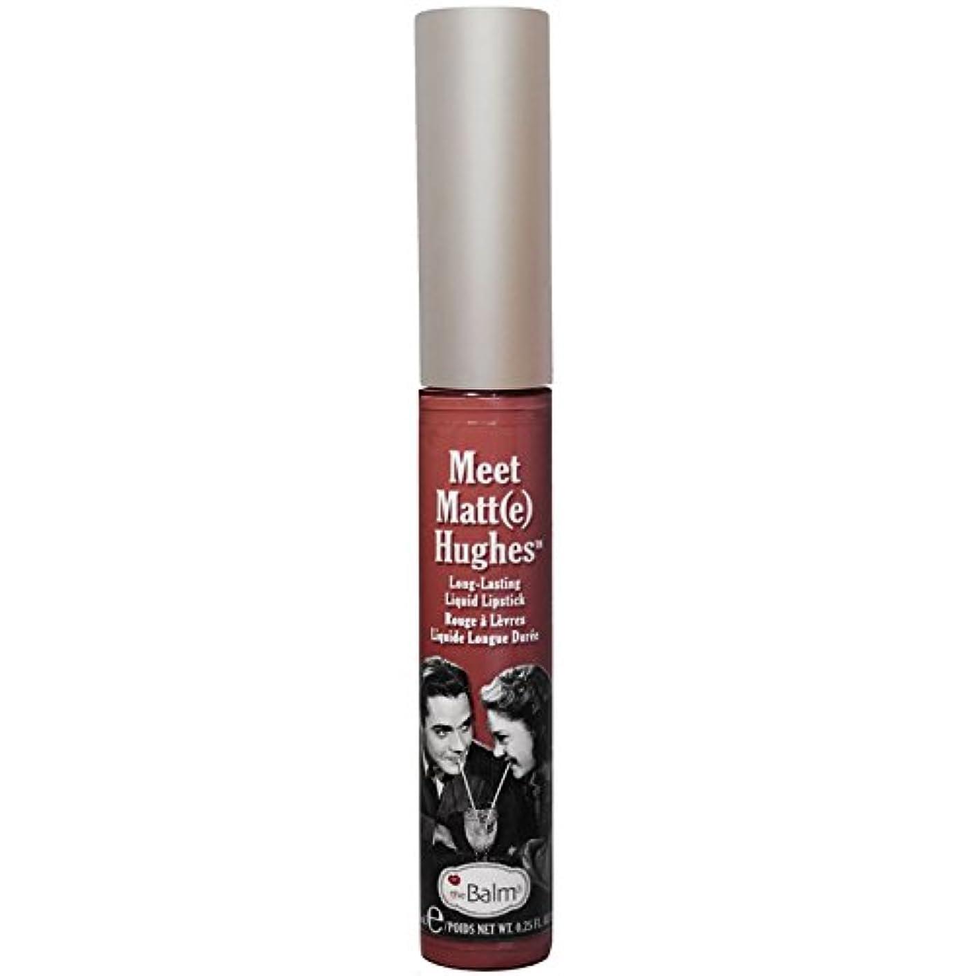 永久彼女自身チャットtheBalm - Meet Matt(e) Hughes Long-Lasting Liquid Lipstick Trustworthy [並行輸入品]