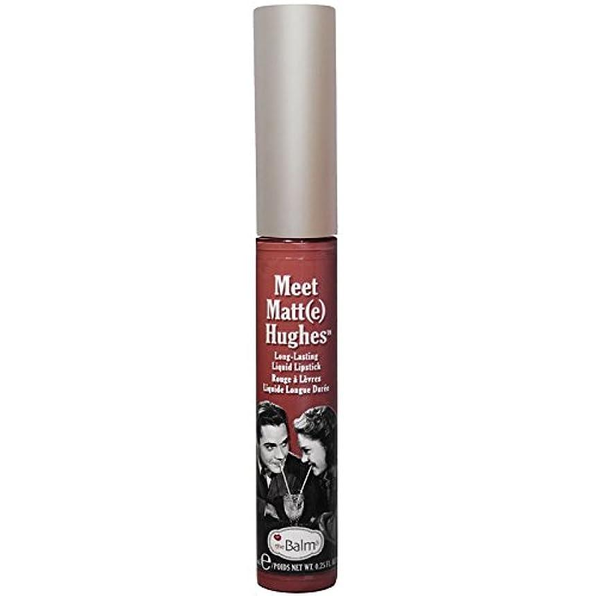 なる蒸発メッセンジャーtheBalm - Meet Matt(e) Hughes Long-Lasting Liquid Lipstick Trustworthy [並行輸入品]