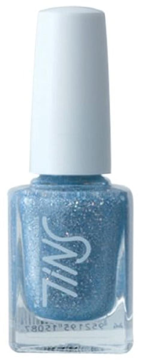 批判かなりの急勾配のTINS カラー016(the splash blue)  11ml ネイルラッカー