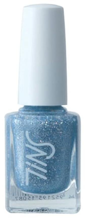 推進退化する暗唱するTINS カラー016(the splash blue)  11ml ネイルラッカー