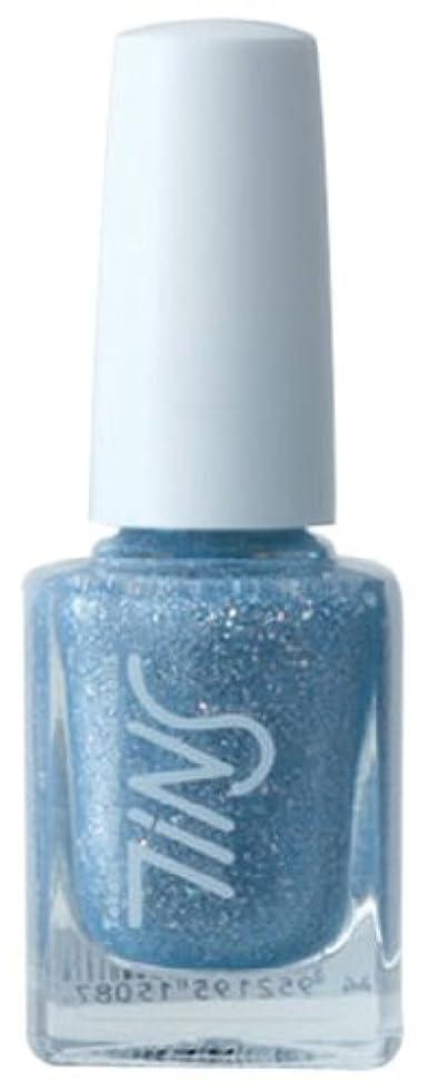 アサー運動する電信TINS カラー016(the splash blue)  11ml ネイルラッカー
