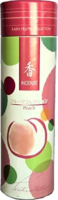 土砂降りしてはいけないちっちゃいおもてなし東京 フルーツフレグランスお香スティック シンプルなお香スタンド付き りんごと桃の香り