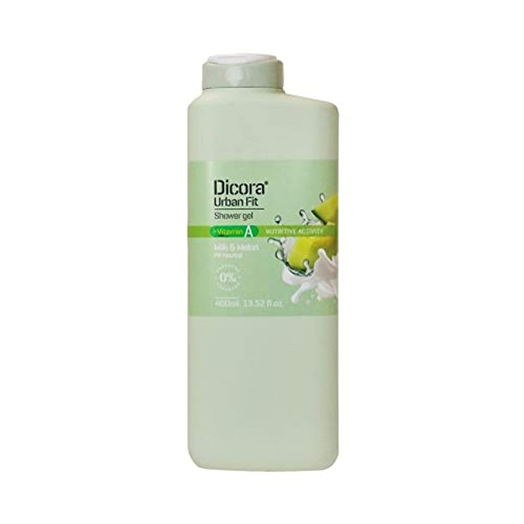 反逆者顔料動機付けるDicora(ディコラ) ディコラ アーバンフィット シャワージェル MK&ML 400ml ボディソープ ミルク & メロンの香り