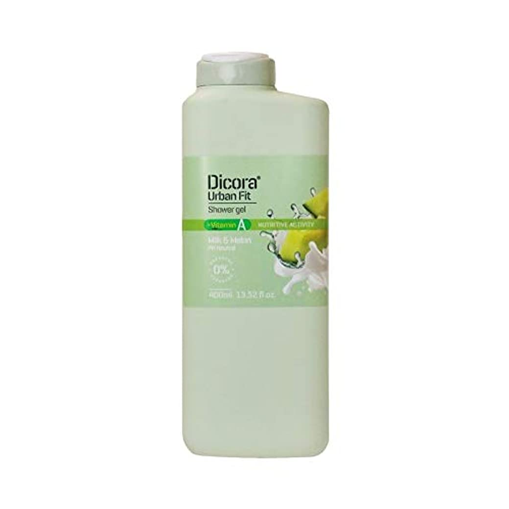 酸眠いですタイトDicora(ディコラ) ディコラ アーバンフィット シャワージェル MK&ML 400ml ボディソープ ミルク & メロンの香り