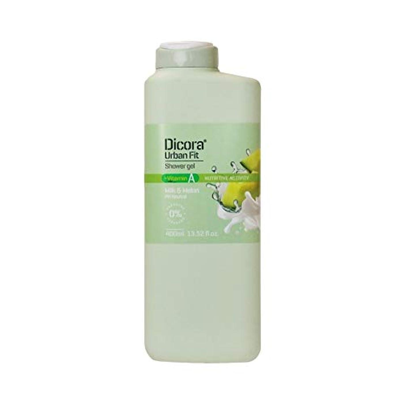 ロープバイアス城Dicora(ディコラ) ディコラ アーバンフィット シャワージェル MK&ML 400ml ボディソープ ミルク & メロンの香り