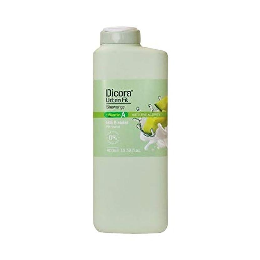 債権者デコレーションリズムDicora(ディコラ) ディコラ アーバンフィット シャワージェル MK&ML 400ml ボディソープ ミルク & メロンの香り
