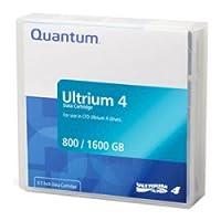 10 Pack QUANTUM LTO-4 MR-L4MQN-01 Ultrium-4 Data Tape Cartridge (800GB/1.6TB) by Quantum [並行輸入品]