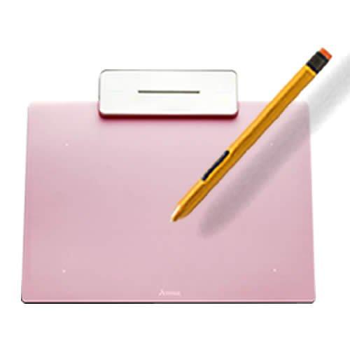 ペンタブレット ペン入力 お絵かき 入門用 板タブ Artisul Pencil Small ( アーティスル ペンシル スモール ) (ローズ ピンク) 日本正規代理店品【ARTISUL】