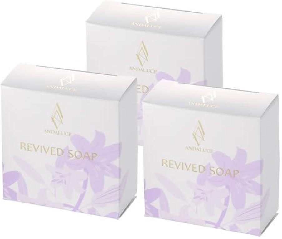 第四買い物に行くピアースリバイブドソープ~REVIVED SOAP~(至高のAHAフルーツ酸SOAP)100g×3個セット