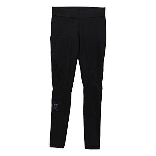 (アディダス)adidas ウィメンズ W 4T ALPHASKIN TEAM ロングタイツ(BK-ブラック、S)