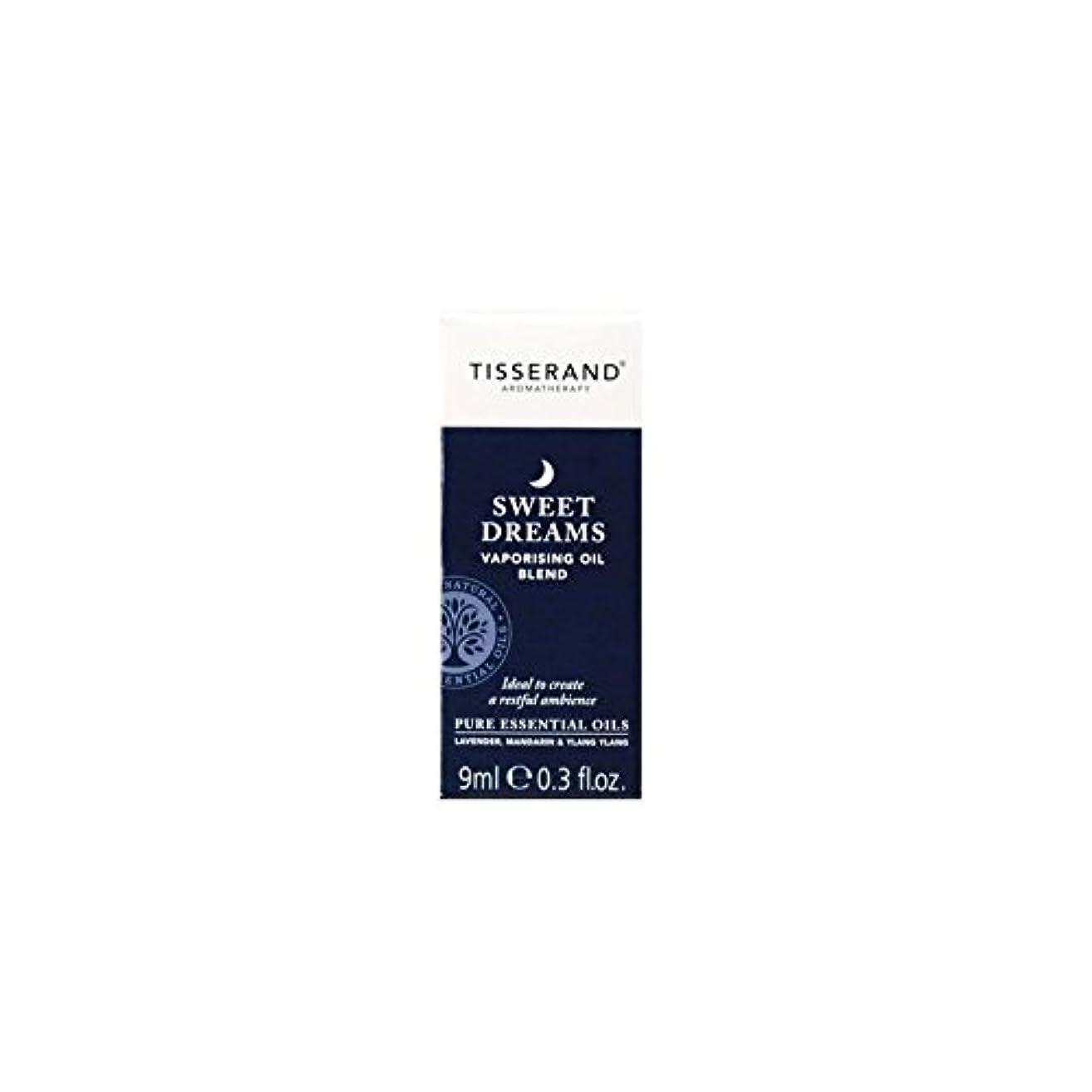 緊張ボイド消えるオイル9ミリリットルを気化甘い夢 (Tisserand) (x 4) - Tisserand Sweet Dreams Vaporising Oil 9ml (Pack of 4) [並行輸入品]