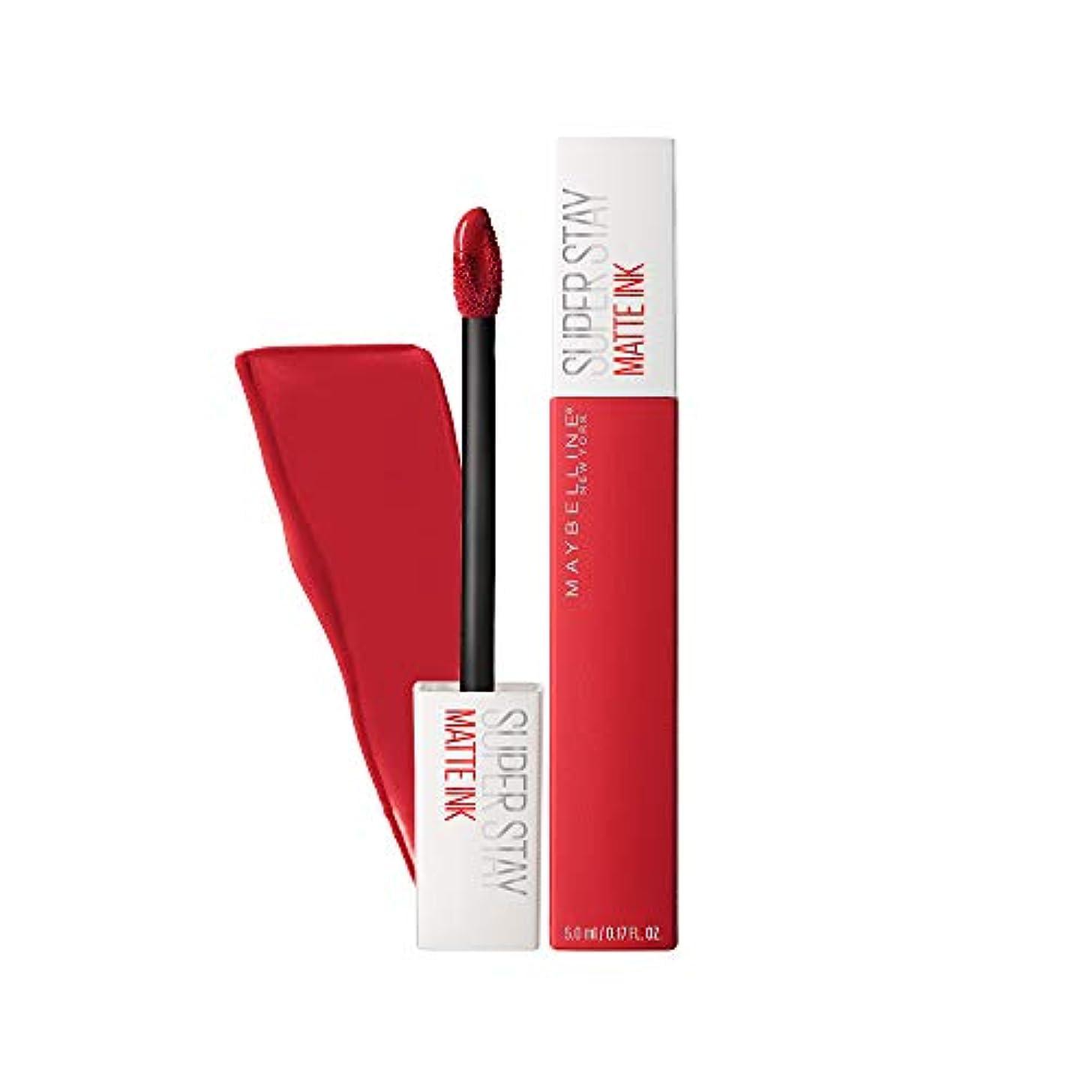 競う十分ではないマークダウンMAYBELLINE SuperStay Matte Ink - Pioneer (並行輸入品)
