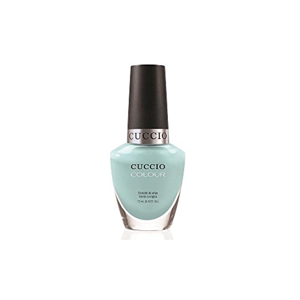 人工的な手足タブレットCuccio Colour Gloss Lacquer - Blue Hawaiian - 0.43oz/13ml