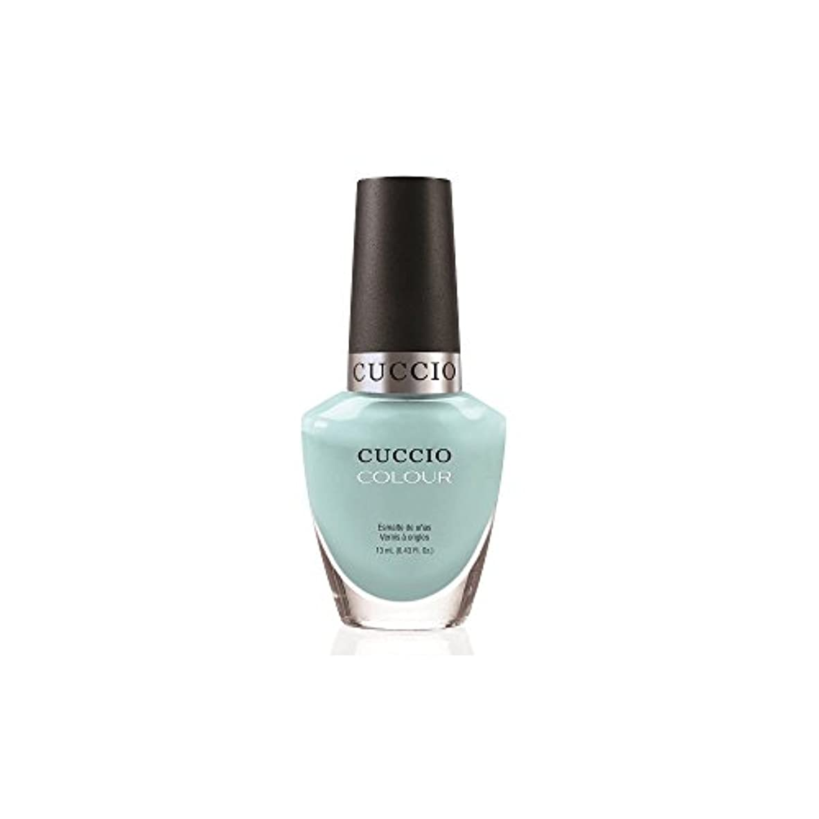 首触覚飛行場Cuccio Colour Gloss Lacquer - Blue Hawaiian - 0.43oz/13ml