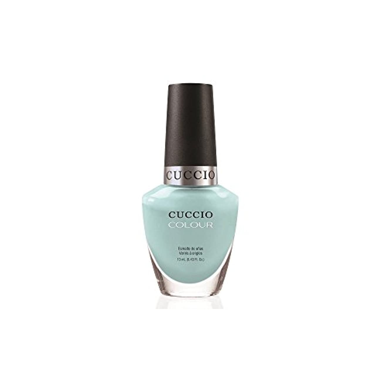フィード腹痛ビーズCuccio Colour Gloss Lacquer - Blue Hawaiian - 0.43oz/13ml