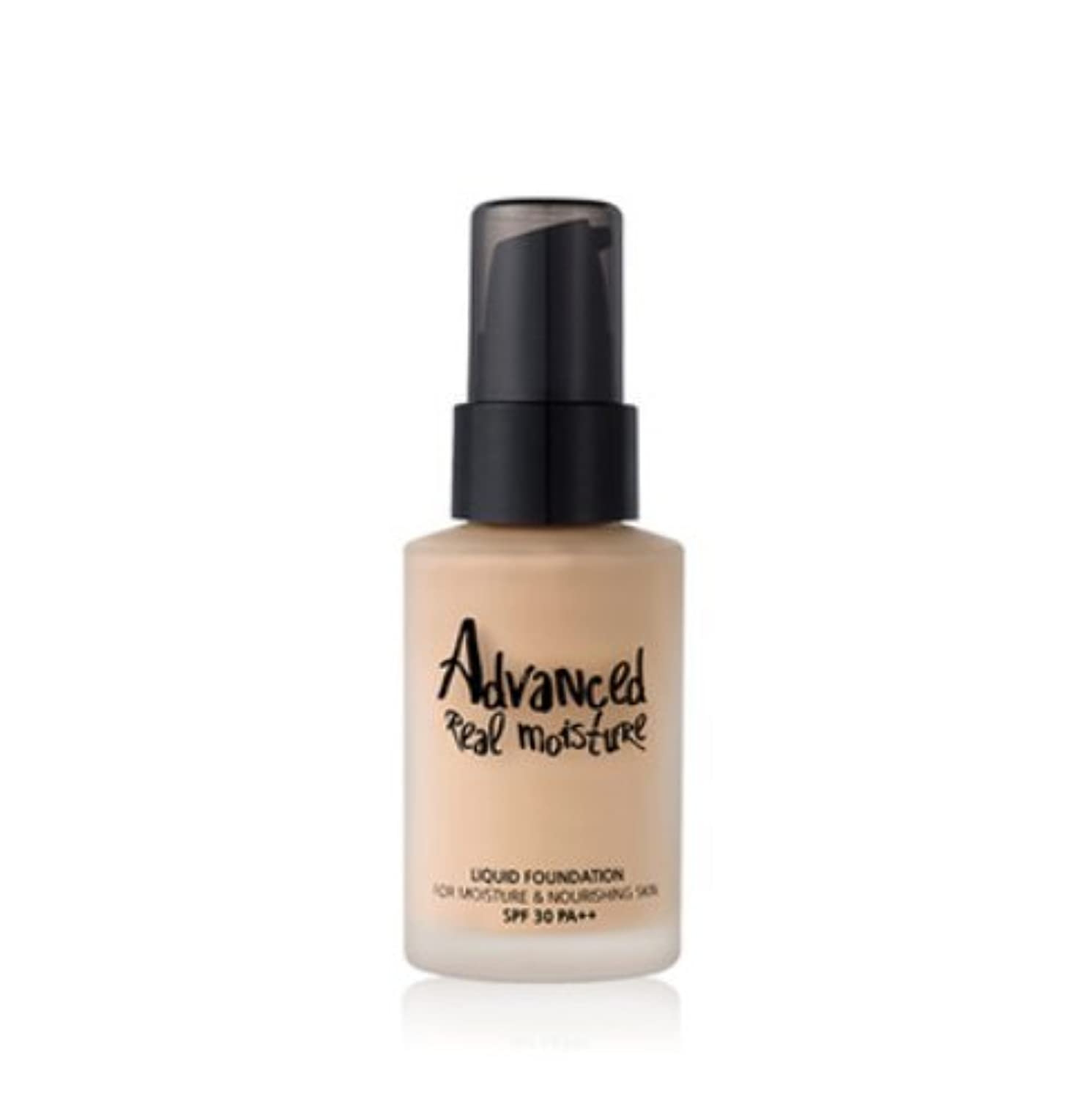 Touch in Sol アドバンスド リアル モイスチャー リキッドファンデーション / Advanced Real Moisture Liquid Foundation (30ml) (#23 Natural Beige...