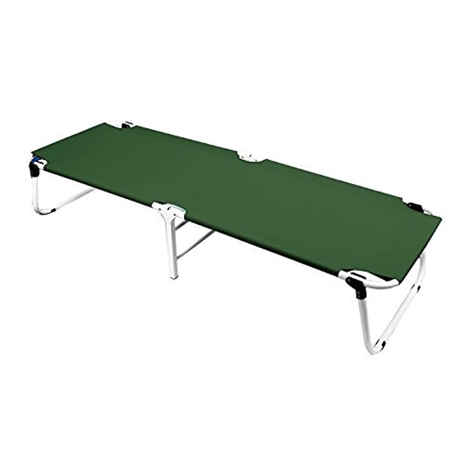 トレイ雪だるまを作る禁止Magshion Perfect Folding Military Camping Hiking Sleeping Cot Lightweight Green [並行輸入品]