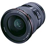 Canon 8806A002 EF f/4L USM Ultra Wide Angle Zoom Lens, Black, 17-40MM