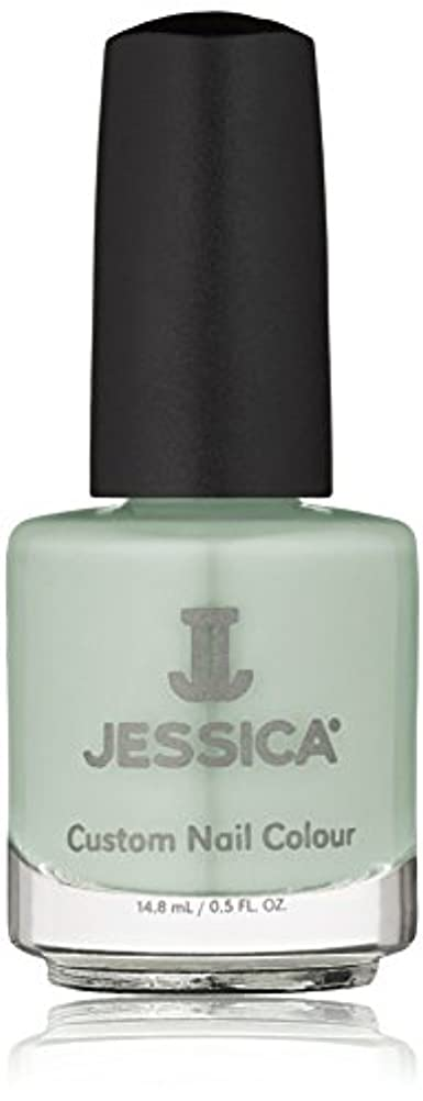 振動させるランドマーク怠感Jessica Nail Lacquer - Mint Blossoms - 15ml / 0.5oz