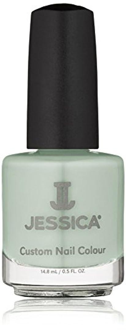 文法赤面外観Jessica Nail Lacquer - Mint Blossoms - 15ml / 0.5oz