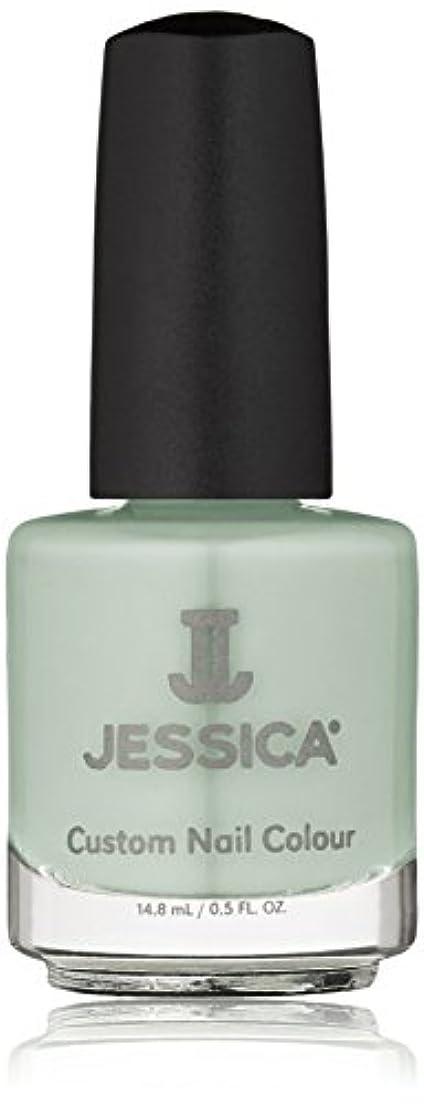 バトルロックアベニューJessica Nail Lacquer - Mint Blossoms - 15ml / 0.5oz